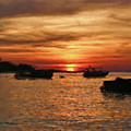 Samed Island Sunrise by Bates Clark