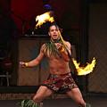 Samoan Fire Dance by Denise Mazzocco