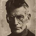 Samuel Beckett 1 by Afterdarkness