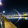 Samuel Beckett Bridge 2 by Alex Art and Photo