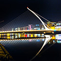 Samuel Beckett Bridge 3 by Alex Art and Photo
