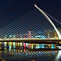 Samuel Beckett Bridge 4 by Alex Art and Photo