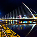 Samuel Beckett Bridge 5 by Alex Art and Photo