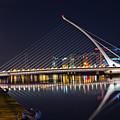 Samuel Beckett Bridge  by Alex Art and Photo