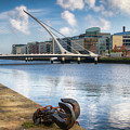 Samuel Beckett Bridge, Dublin, Ireland by Eric Drumm
