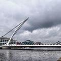 Samuel Beckett Bridge by Sharon Popek