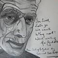 Samuel Beckett by Roger Cummiskey