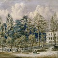 Samuel Fleet Homestead by Flora Palmer