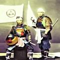 Samurai Pair by John Feiser
