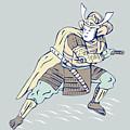 Samurai Warrior by Aloysius Patrimonio