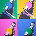 Samurai X 4 by Gary Hogben