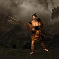 Samural Warrior by John Junek