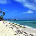 San Andres Island Beach View by John Rizzuto