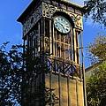 San Antonio Clock by Michiale Schneider