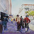 San Antonio Cowboys by P Anthony Visco