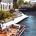 San Antonio River Walk by M Diane Bonaparte