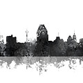 San Antonio Texas Skyline by Marlene Watson