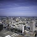 San Antonio Texas Skyline by PhotographyAssociates