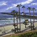 San Clemente Pier by Lisa Reinhardt