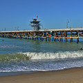 San Clemente Pier by Tommy Anderson