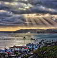 San Clemente Sunset 1 by Endre Balogh