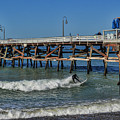 San Clemente Surfing by Tommy Anderson
