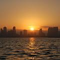 San Diego Bay Sunrise by Christine Owens