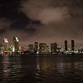 San Diego Evening Skyline by Susan McMenamin