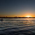 San Diego Harbor Sunset by John Johnson