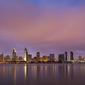 San Diego Skyline by Adam Romanowicz