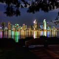 San Diego Skyline by Eddie Yerkish