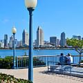 San Diego Skyline by Robert VanDerWal