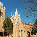 San Felipe De Neri Church - Old Town Albuquerque New Mexico by Gregory Ballos