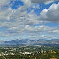 San Fernando Valley Panorama by David Zanzinger