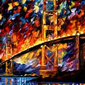 San Francisco - Golden Gate by Leonid Afremov