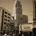 San Francisco Architecture, 2007 Sepia by Frank Romeo