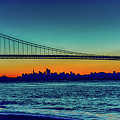 San Francisco At Day Break by Jack Peterson