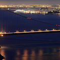 San Francisco At Night by Bob Christopher