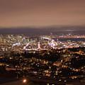 San Francisco At Night by Jim Macdonald