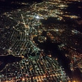 San Francisco At Night by Pamela Walton