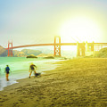 San Francisco Baker Beach by Benny Marty
