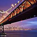 San Francisco Bay Bridge by Photo by Mike Shaw