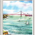 San Francisco Bay View Window by Irina Sztukowski