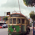 San Francisco Trolley Car by Frank Romeo