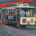 San Francisco Cable Car by Marcelle Schvimmer