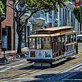 San Francisco, Cable Cars -2 by Tommy Anderson