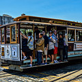San Francisco, Cable Cars -3 by Tommy Anderson