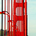 San Francisco Golden Gate Bridge Symphony In California by Michael Hoard