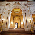 San Francisco City Hall Wedding by Mike Peyzner