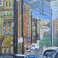 San Francisco Commute by Radha Flora Cloud